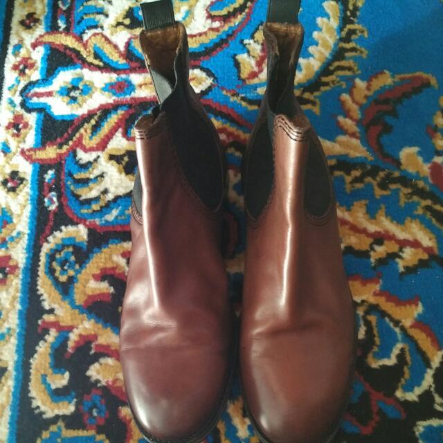 Zara Woman Brown Boots