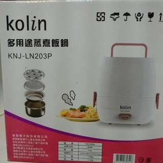 歌林多用途蒸煮飯鍋