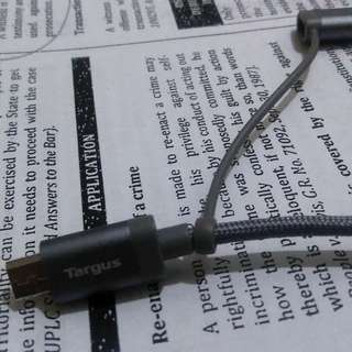 authentic targus charger 2 in 1