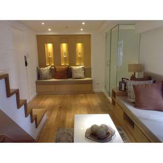 LOFT TYPE UNIT IN BGC 3BR RENT TO OWN FORT VICTORIA RFO