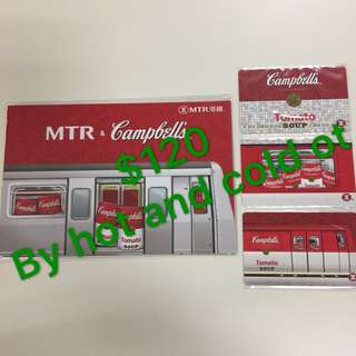 MTR Tickets (campbells)