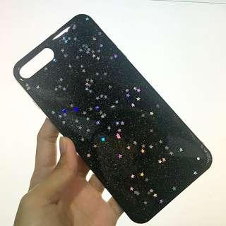 Black Glitter Case