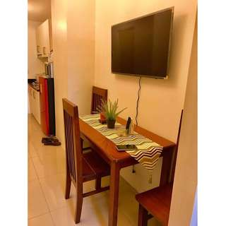 FOR RENT 1BR IN JAZZ RESIDENCES MAKATI CITY FULLY FURNISHED