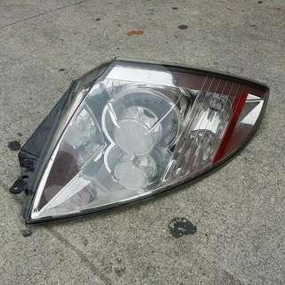 2010 Mitsubishi Eclipse Passenger Side Tail Lamp