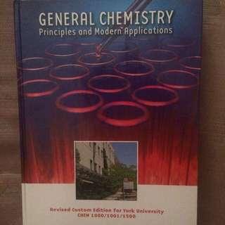 York University Chem 1000-1001