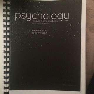 Psych 1010 -york University