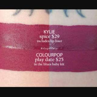 Colourpop Playdate Ultra Matte Lips 2016 Holiday Collection