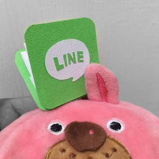 🚚 Line 手作卡片迷你版 手工卡片