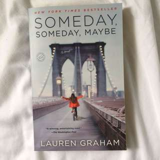 Someday Someday Maybe Book