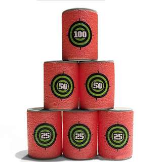 NERF Tin Can Foam Targets for You to Blast Away - PROMOTION + FREE POSTAGE