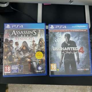 Uncharted 4 & Assassin Creed Syndicate