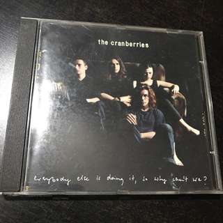 CD The Cranberries Everybody Else Is Doing It So Why Can't We