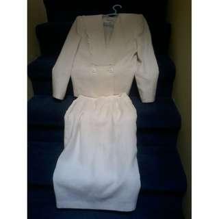 White 2 Piece Suit