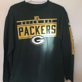Authentic Green Bay Packers Long Sleeve