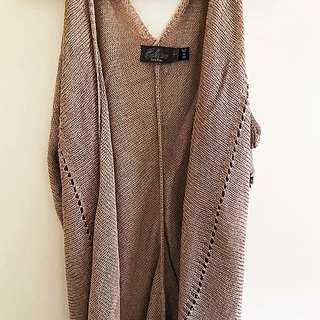 Costa Blanca M Sleeveless Cardigan