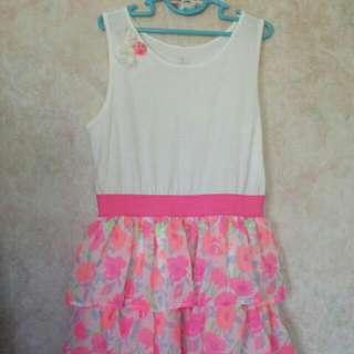 Girls Summer Dress. 10-12 Yrs Old Size