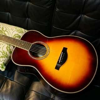 YAMAHA LS-TA 全單板電木吉他