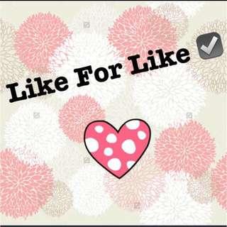 Like 4 Like