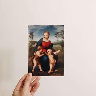 美術館系列 明信片 購於義大利 佛羅倫斯
