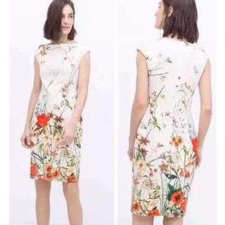 SALE! Sleeveless Floral Dress ( last 1 pc )