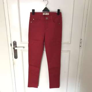(NEW) Cotton On Color Red Jeans