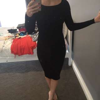 Pilgrim Knit Midi Dress Size M