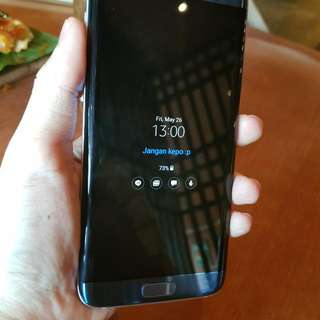 Samsung S7 Edge Coral Blue SEIN