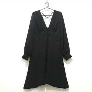 ASOS Black Longsleeves Dress