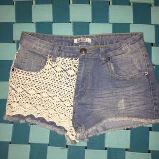 Bluenotes half-lace shorts
