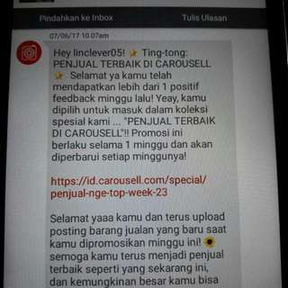 Perhatian Carousell The Best Penjual