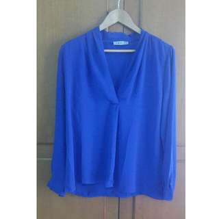 Opaque Blue Shirt