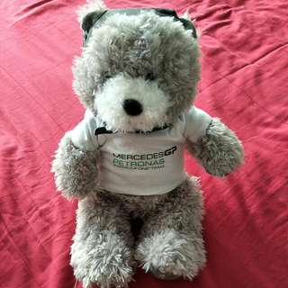 F1 Mercedes GP Petronas Bear Collectibles