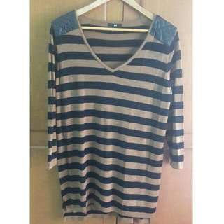 HnM Striped TOP