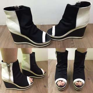Boots Open Toe