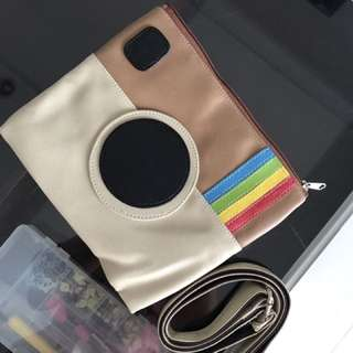Instagram Clutch