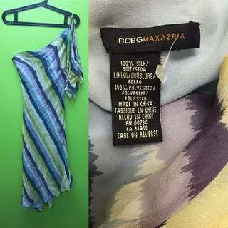 One Side Strap Dress BCBGMAXAZRIA
