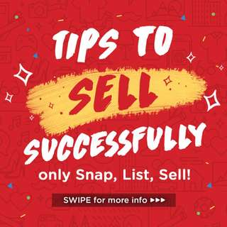 Tips to SELL successfully