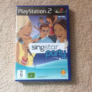 Sing star Party PS2