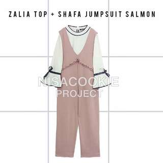 Shafa Jumpsuit (excld Inner) By Nisa Cookie Project