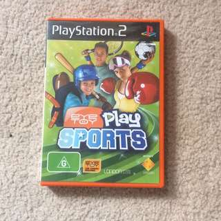 PS2 Eye Toy Play Sports.