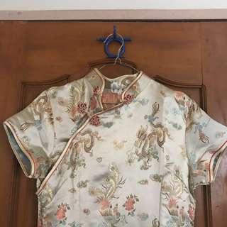 LONG CHINESE DRESS