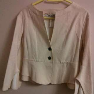 Celine Blazer Size 40 Blush Color