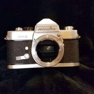 Rare Vintage Minolta SR-2 Camera