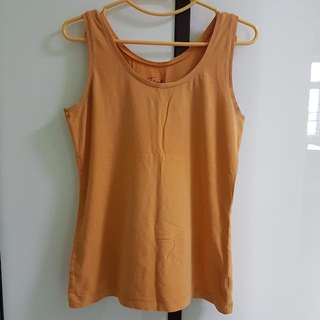 L/XL/UK12/UK14 Orange Tank Top