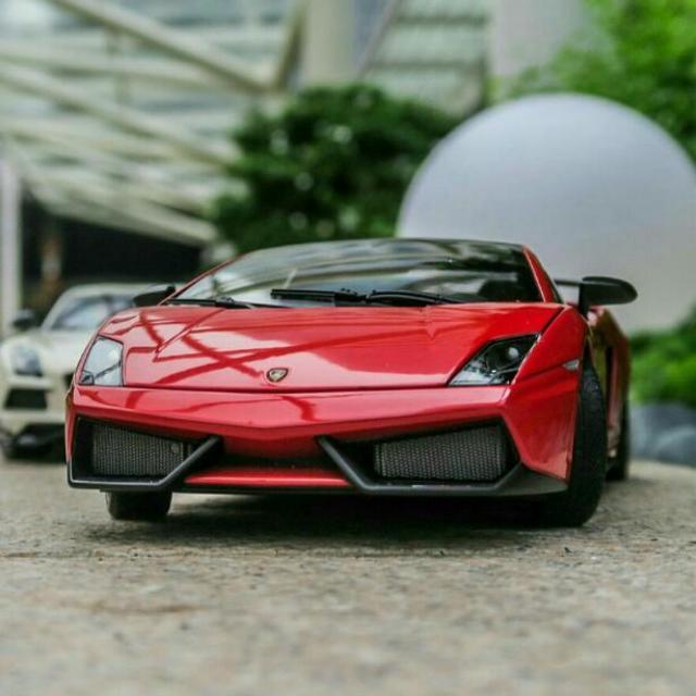1 18 Autoart Lamborghini Gallardo Supertrofeo Stradale Toys Games
