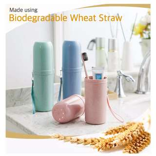 Travel Toothbrush Holder/ Case/ Stand with Cover/ Lid [Y580SD230N590SC450R740]
