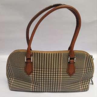 Houndstooth Vintage Bag