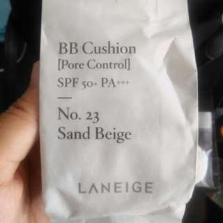Laneige BB Cushion Pore Control No.23 Sand Refill 15g