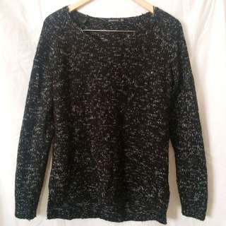 Black Stradivarius Sweater