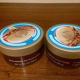 REPRICE: The Body Shop Wild Argan Oil Body Scrub
